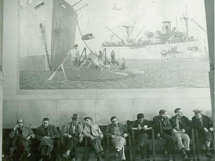 Merchant Marine Mural